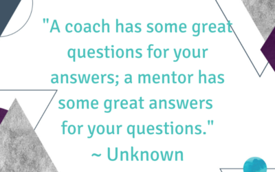 The Similarities and Differences Between Coaching and Mentoring